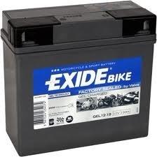 2.3 Ah YT4B-BS EXIDE BIKE складские остатки