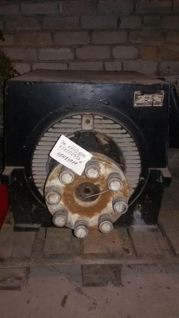 Электродвигатель 4АН280М-4У81З23 складские остатки