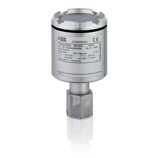 Преобразователь избыточного давления 261GS.R.K.B.N.T.1-.L1.AA..B2..... CB складские остатки